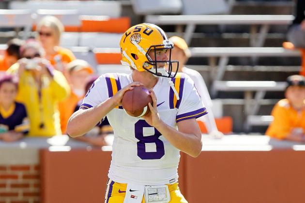 LSU Football: Why Zach Mettenberger Is under Most Pressure out of All Fall Camps