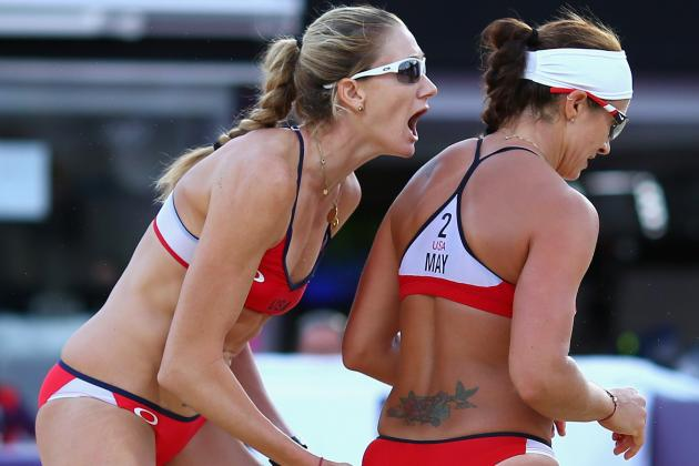 Misty May-Treanor & Kerri Walsh 2012 Olympics: Semifinal Results, Highlights