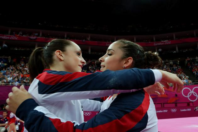 US Olympic Gymnastics Team: Aly Raisman Wins Gold While Wieber Injury Reported