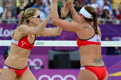 Olympic Volleyball 2012: Misty May-Treanor & Kerri Walsh Day 11 Results