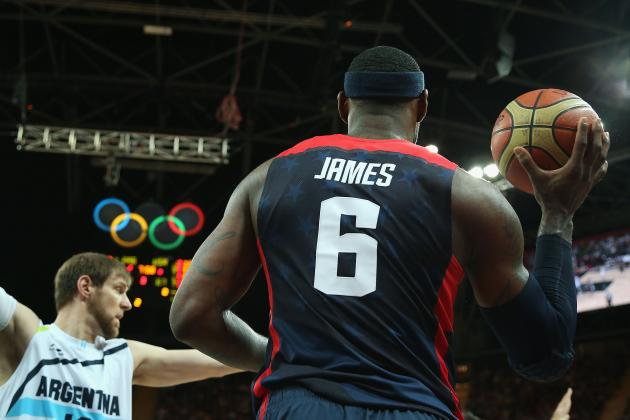 Comparing LeBron James' Olympic Run to Michael Jordan's Dream Team Campaign