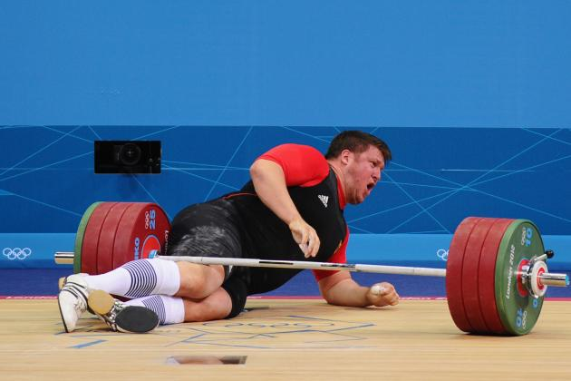 German Weightlifter Matthias Steiner Drops 432 Pounds on Head and Lives