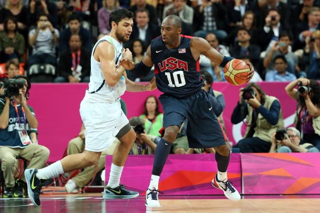 Team USA Basketball: Coach Krzyzewski Should Bench Kobe Bryant