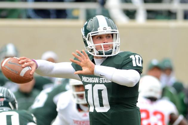 Michigan State's Andrew Maxwell Has Some 'Swag'
