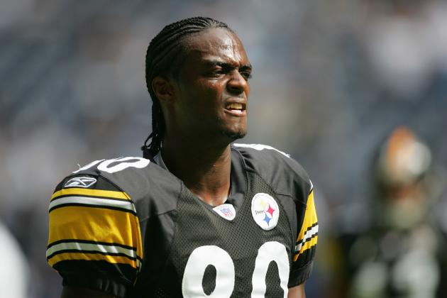 Let's All Just Forget About Plaxico Burress Returning to the Pittsburgh Steelers