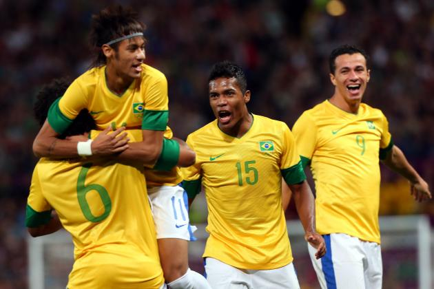 London 2012: Early Preview of Brazil vs. Mexico Gold-Medal Final