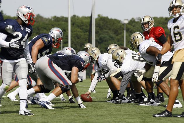 Patriots Training Camp: Observations from Tuesday's Joint Practice with Saints