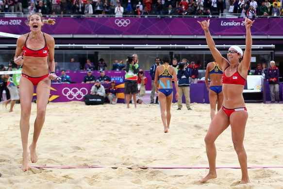 Misty May-Treanor and Kerri Walsh Will Win Their Most Satisfying Gold Medal Yet