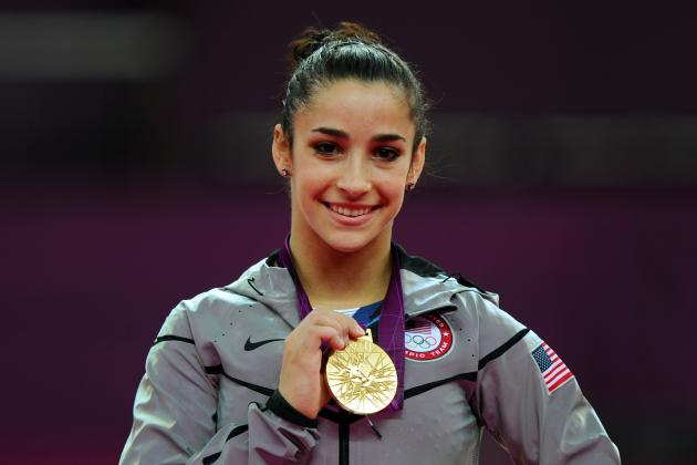 2012 Olympics Women's Gymnastics: Aly Raisman Ends Competition on a High