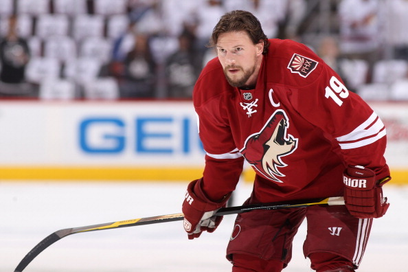With Ryan Kesler out Until December, Vancouver Canucks Have Sights on Shane Doan