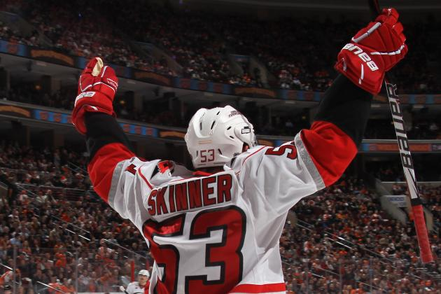 Carolina Hurricanes Ink Jeff Skinner to 6-Year Extension