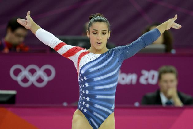 Aly Raisman's Hard Work Paid off with an Unforgettable Gold Medal Performance