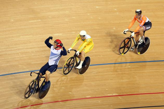 Olympics 2012: Sir Chris Hoy Wins Men's Keirin to Become GB's Greatest Olympian