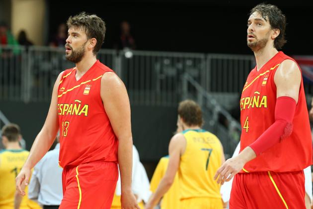 France vs. Spain: Why Pau and Marc Gasol Will Dominate French Squad