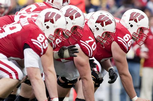 Observing the Wisconsin Offensive Lineman: A Study of the Big Ugly