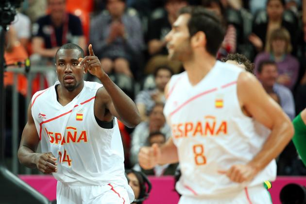 Olympic Basketball: What to Make of Serge Ibaka's Limited Playing Time