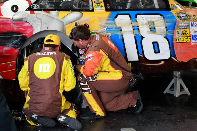 NASCAR: Will Bad Luck Cause Kyle Busch to Miss the 2012 Chase?