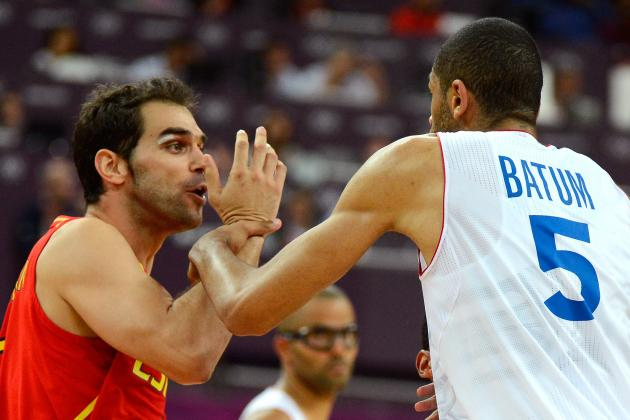 London 2012 Basketball: Nicolas Batum's Punch Elevates Question-Mark Status