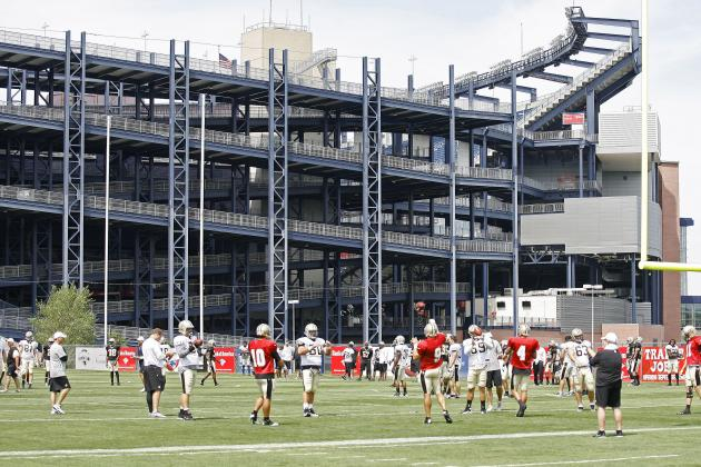 New England Patriots Training Camp Observations, 8/8