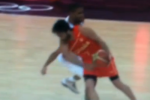 French B-Baller Punches Spanish Player in the Worst Spot Possible