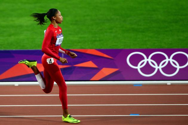 Allyson Felix: Sprinter Will Overcome Stacked Field to Win 200-Meter Gold