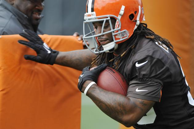 Trent Richardson's Knee Should and Shouldn't Worry the Cleveland Browns