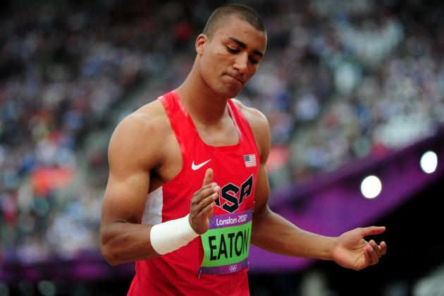 Ashton Eaton Too Talented for USA Teammate Trey Hardee to Keep Pace