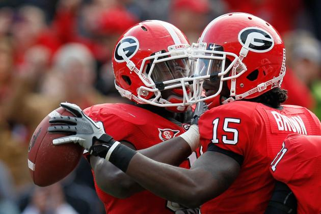 Georgia Football: Marlon Brown's Performance in Scrimmage Is Encouraging