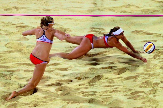 London 2012 Women's Beach Volleyball: Live Score & Analysis for All-USA Final