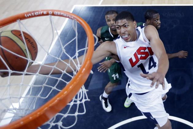 Team USA Basketball 2012: Should Coach K Play Anthony Davis More?
