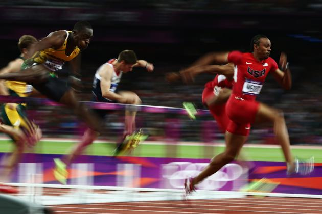 Aries Merritt Hurdles Gold; Huge Boost for Lackluster US Men in Track and Field