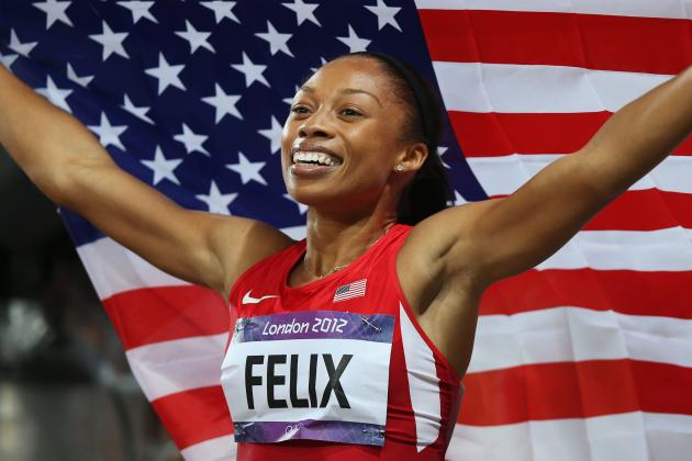 Allyson Felix: US Sprinter Finally Tastes Sweetness of Olympic Gold in 200M