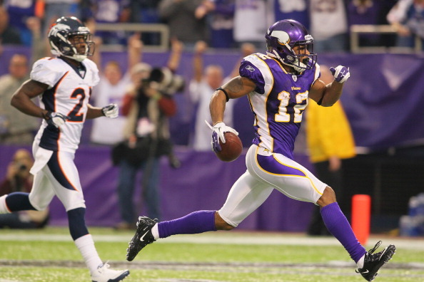 2012 Fantasy Football Preview: Minnesota Vikings' Percy Harvin