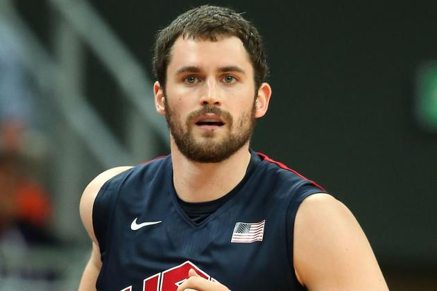 Olympic Basketball 2012: Kevin Love Is the Best Power Forward in the World