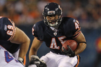 Chicago Bears Fullback Harvey Unga Emerges from the Shadows