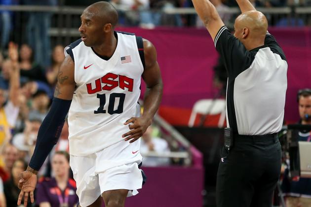 Olympics Basketball 2012: Team USA Lowers the Boom on Overmatched Australia