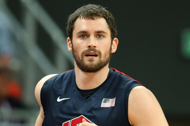 Team USA Basketball 2012: Kevin Love Is the Key to Overcoming Size Disadvantage
