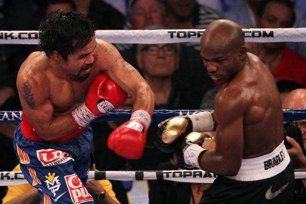 Manny Pacquiao Reportedly Leaning Toward a Timothy Bradley Rematch for Nov. 10