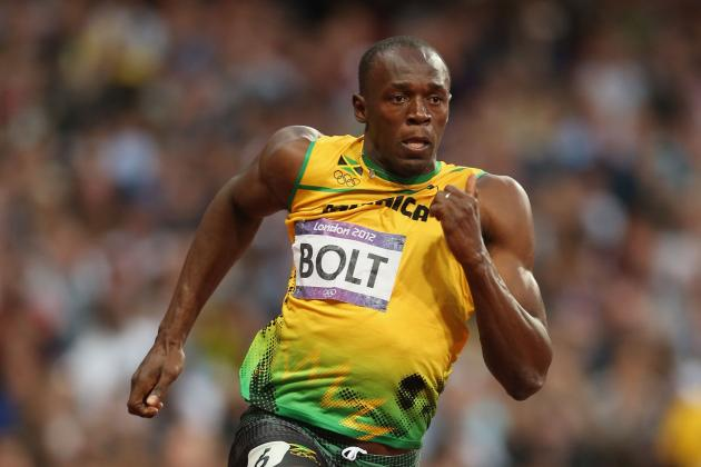 Olympics 2012: Usain Bolt Competing with History