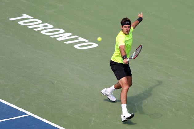 US Open 2012 Preview: Juan Martin Del Potro Not Real Contender for Final Slam