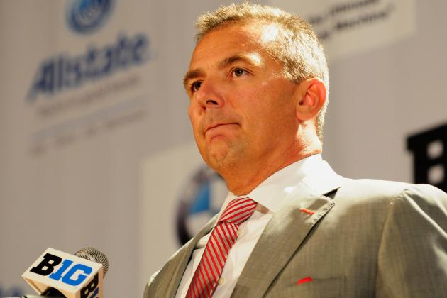 Ohio State Football: Urban Meyer Won't Let OSU's Rough Offseason Hinder Progress