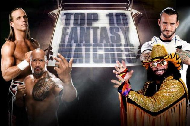 WWE Counts Down Top 10 Fantasy Matches That Never Happened