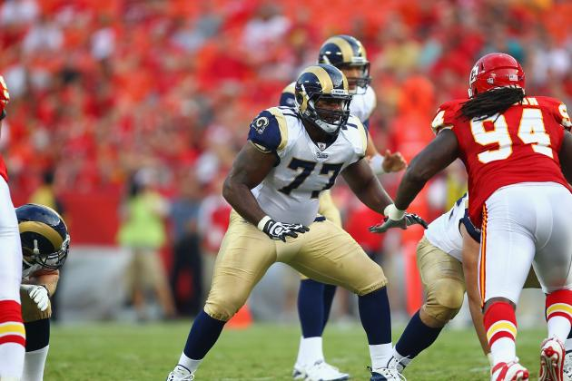 St. Louis Rams: Jason Smith Demoted to the Second Unit