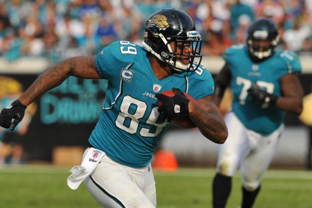 Marcedes Lewis: Can the Jags Tight End Be Blaine Gabbert's Go-to Guy This Year?