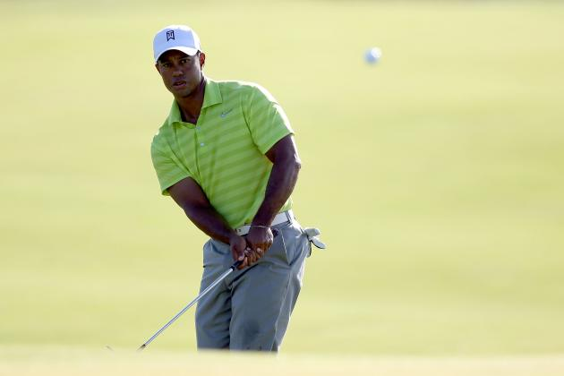 PGA Championship 2012: Analyzing Tiger Woods' Chance at Winning Tournament