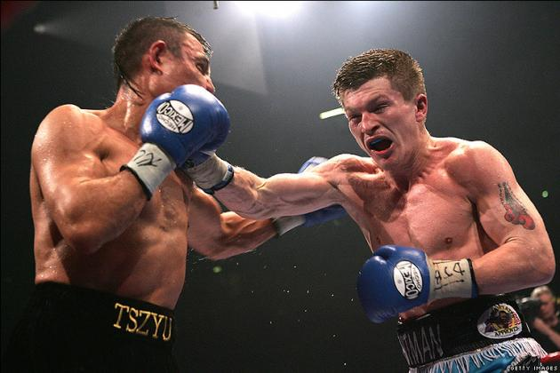 Boxing Rewind Clip of the Week: Ricky Hatton TKOs Kostya Tszyu
