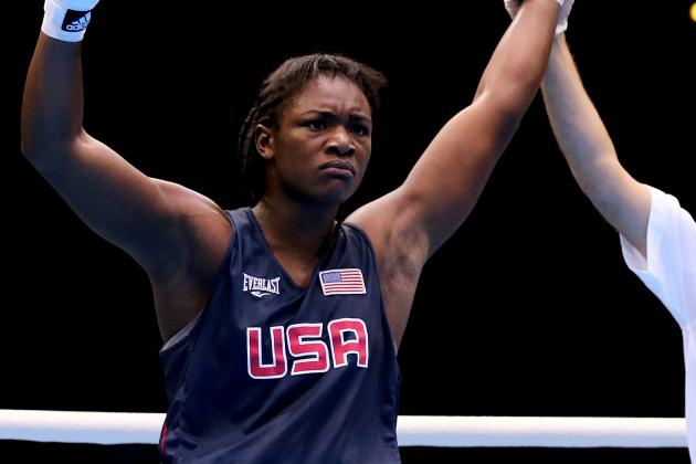 American Claressa Shields Fights for Boxing Gold