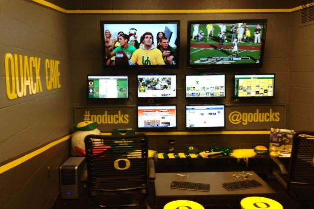 Oregon Football: Ducks Prove They Are Cooler Than Everyone Else with Quack Cave