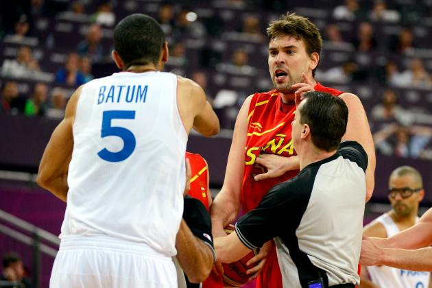 2012 Olympic Basketball: Nicolas Batum and the Groin Punch Heard Round the World