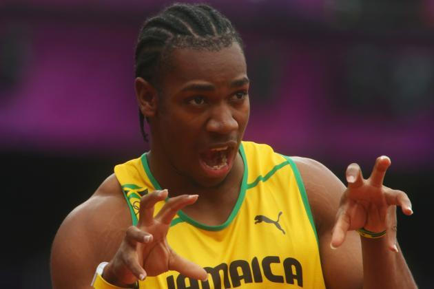 Yohan Blake Wins 2012 Olympic Men's 200m Silver Medal